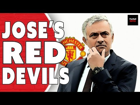 Manchester United under Jose Mourinho   Football Tactics