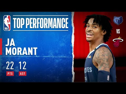 Ja Morant Drops 22 PTS and 12 AST To Lead Grizzlies!