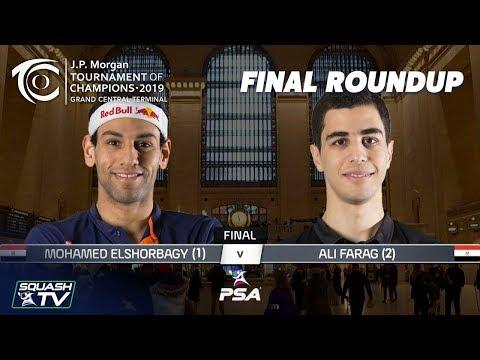 Squash: ElShorbagy v Farag - Tournament of Champions 2019 Final Roundup