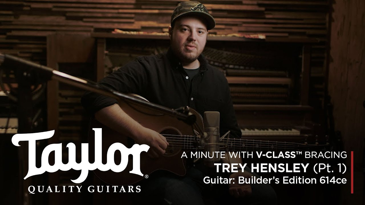 V-Class™ Acoustic Guitar Bracing | Trey Hensley (Pt. 1)