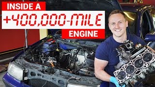 Video Here's What An Engine With 432,000 Miles Looks Like Inside MP3, 3GP, MP4, WEBM, AVI, FLV Juli 2018