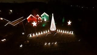 Clarence (NY) United States  city images : A Drone's View of Christmas Lights - Clarence, NY