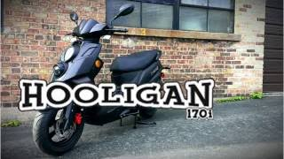 1. GENUINE HOOLIGAN 170i (OVERVIEW) by Boca Scooters