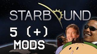 Mi lista de cinco (ok, son más de cinco) mods para Starbound. Creo que podría empezar a poner el dibujo que hice para la...