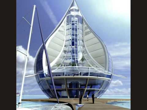 Solar-Powered Teardrop Building to Suck Water from Air