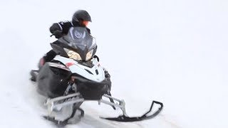 9. 2013 Yamaha Apex SE Snowmobile Review