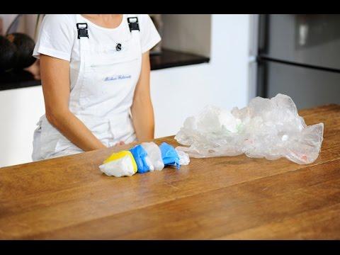 Come piegare i sacchetti di plastica | Fai da te