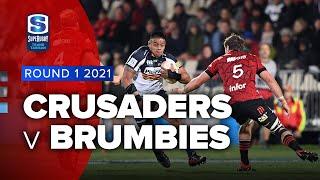Crusaders v Brumbies Rd.1 2021 Super rugby Trans Tasman video highlights