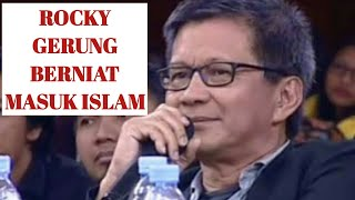 "Video "" ROCKY GERUNG "" AHLI FILSAFAT INI BERNIAT MASUK ISLAM MP3, 3GP, MP4, WEBM, AVI, FLV September 2019"