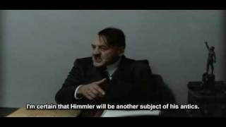 Hitler reacts to Himmler's childhood photo.