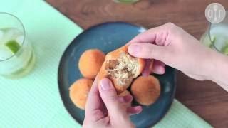 Cómo hacer croquetas de pollo brasileñas (coxinhas)