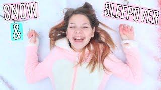Video Snow Day and Sleepover with Hope Marie Vlog MP3, 3GP, MP4, WEBM, AVI, FLV Januari 2018