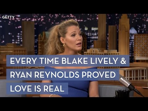 Every time Ryan Reynolds and Blake Lively Proved Love is Real