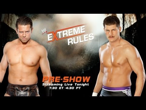 pre - Rivals meet as The Miz and Cody Rhodes clash at the Extreme Rules Pre-Show. Get all the latest news for the one show of the year that has no rules! Mick Fole...