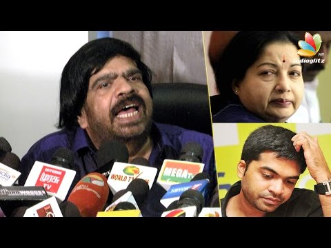 TR-Speech--Simbu-was-disturbed-by-Jayalalithas-health-condition-Apollo-Hospital-Latest