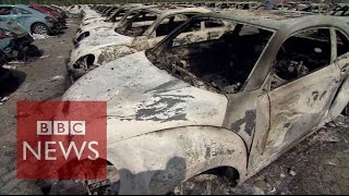 Tianjin China  city images : China explosions: Inside Tianjin blast zone - BBC News