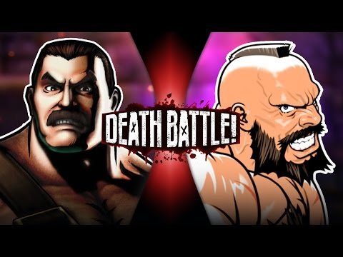 DEATH BATTLE! - Haggar VS Zangief Video