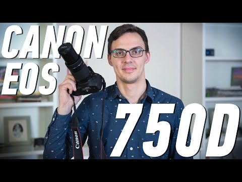Canon EOS 750D: обзор фотоаппарата (видео)
