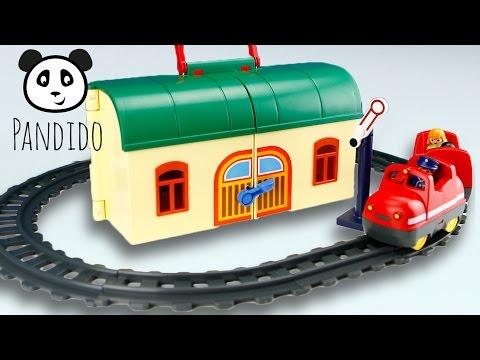 Playmobil Mitnehm Eisenbahn - Spielzeug ausgepackt und angespielt - Pandido TV