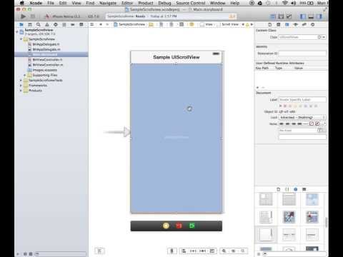 Layouting UIScrollView Via Autolayout In Xcode's Interface…