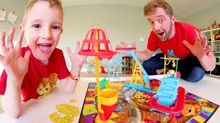 Father & Son PLAY MOUSE TRAP! / Don't Get Caught!