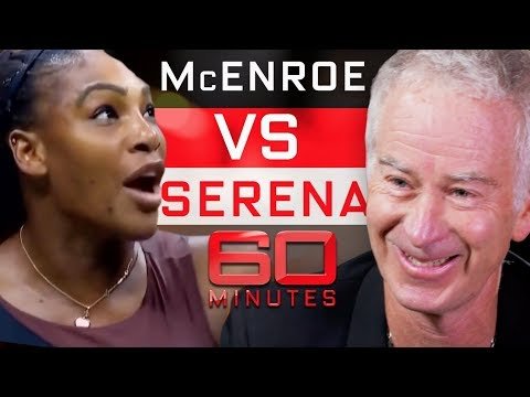 John McEnroe says he can beat Serena Williams | 60 Minutes Australia