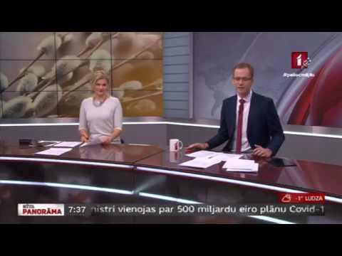 """Veselības ministres Ilzes Viņķeles saruna LTV """"Rīta Panorāma"""" par aktualitātēm saistībā ar COVID-19"""