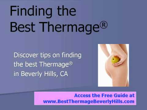 Best Thermage Beverly Hills