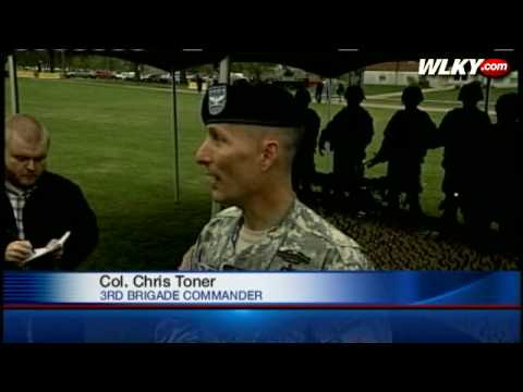 Activation Ceremony Held At Fort Knox