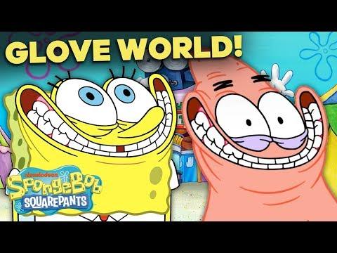 Escape from Glove World! 🧤 5 Minute Sneak Peek! NEW SpongeBob Episode