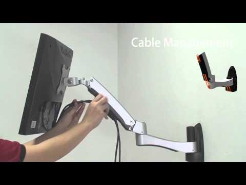 ATW20 – Articulated LCD/LED wall mount with extended arm