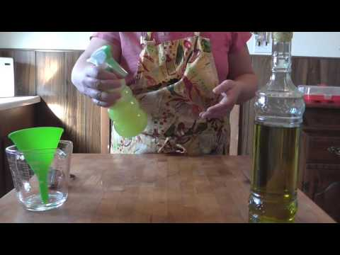 Homemade Non-Stick Cooking Spray ( Frugal Idea)