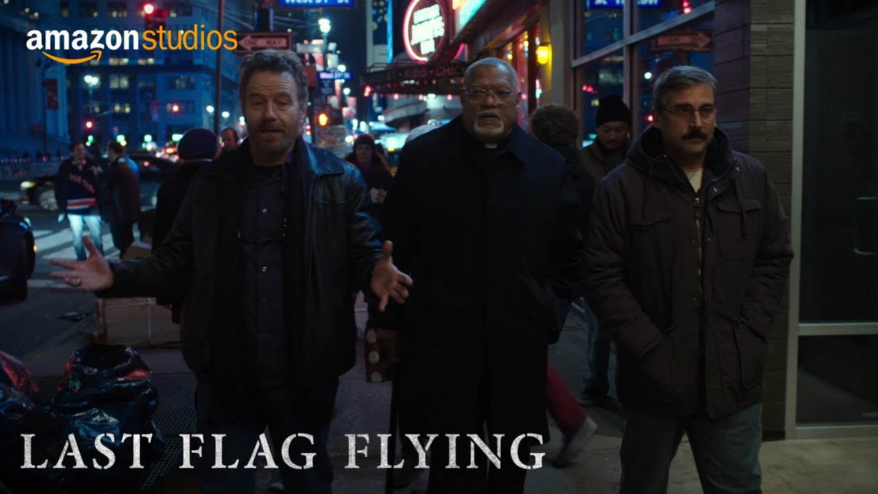 Watch Steve Carell, Bryan Cranston & Laurence Fishburne on a Road Trip in Richard Linklater's Poignant & Funny 'Last Flag Flying' (Trailer)