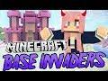 Kawaii Castle  Minecraft Base Invaders Challenge