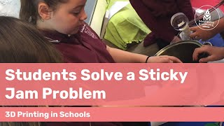 How Birdwood Primary School students design a solution to a sticky problem using 3D printing