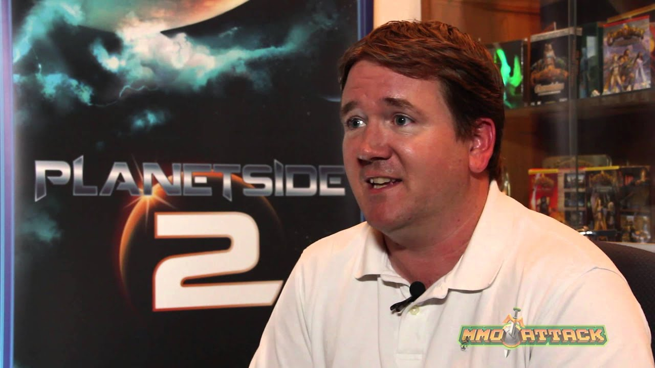 PlanetSide 2 Developer Interview | Rodney Gates