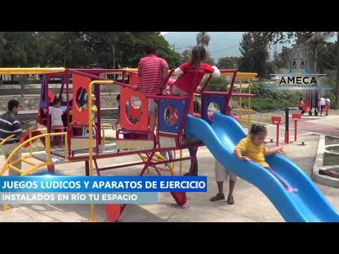 INSTALACION DE JUEGOS LUDICOS Y APARATOS DE EJERCICIO EN RIO TU ESPACIO