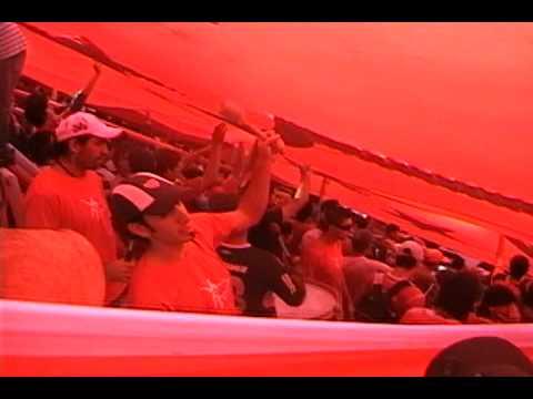 Vs Tigre. Cantando abajo de Telon - La Barra del Rojo - Independiente