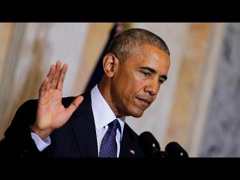 ΗΠΑ: Βολές Ομπάμα κατά Τραμπ με αφορμή το μακελειό στο Ορλάντο