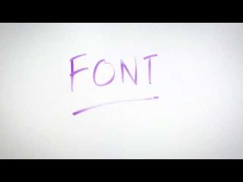Advertising Dictionary: Font