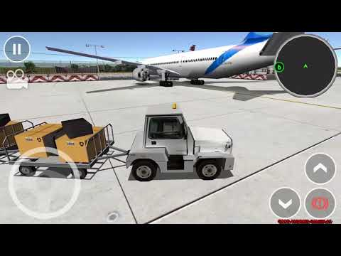 Drive Simulator Lite #9 -Airport Mission: New Luggage Truck Unlocked Android GamePlay FHD