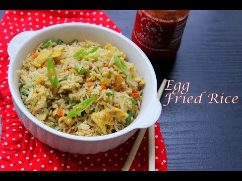 Quick and Easy Egg Fried Rice|Egg Fried Rice Recipe Restaurant Style|എഗ്ഗ്ഫ്രൈഡ് റൈസ് |Anu's Kitchen
