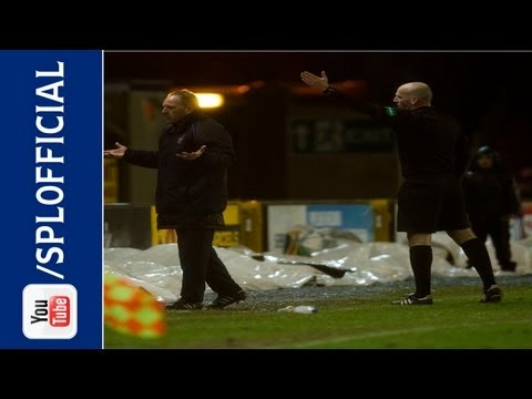 Kenny Shiels - Kilmarnock manager Kenny Shiels is sent to the stand during his side's 1-1 draw with Inverness CT at the Caledonian Stadium in the SPL. He's not done there, ...