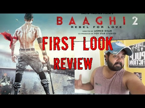 Video Baaghi 2 First look / Review / Tiger Shroff download in MP3, 3GP, MP4, WEBM, AVI, FLV January 2017