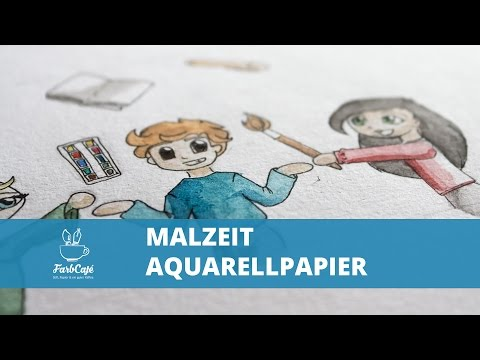 Malzeit Aquarellpapier Testbericht