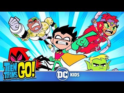 #StayHome Teen Titans Go! | Teen Titans Transformations | DC Kids