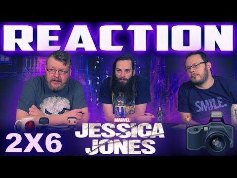 "Jessica Jones 2x6 REACTION!! ""AKA Facetime"""