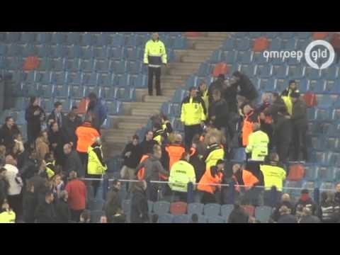 Tien PSV-supporters opgepakt na vechtpartij GelreDome