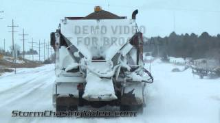 Norton (KS) United States  City new picture : 12/3/2011 Norton KS Winter Storm B-Roll footage.