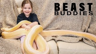 7-Year-Old's Bestie Is A 15ft Python | BEAST BUDDIES by Barcroft Animals